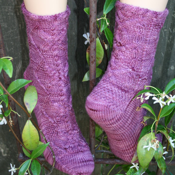 gardiner yarn works butterfly garden socks